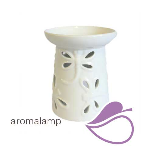 | aromalamp wit libelle